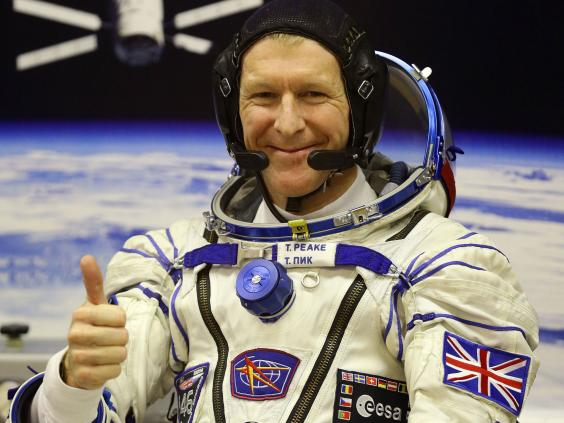 Resultado de imagen para Tim Peake regresa a la Tierra